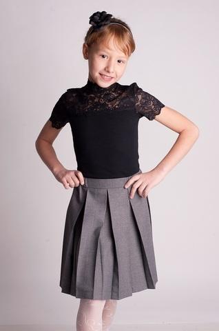 Баловень Школьная форма: юбка для девочки Ю17.2 серая
