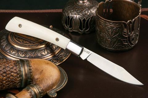 Складной нож Gent 440C Satin