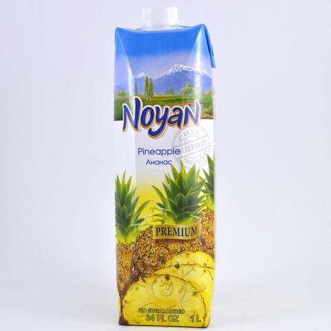 Сок ананасовый без сахара Noyan, 1л
