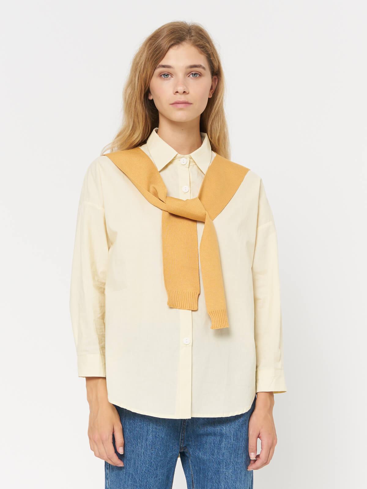 Рубашка с накидкой