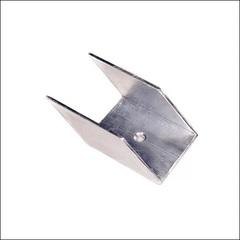 Алюминиевый крепеж для балясины угловой 45°