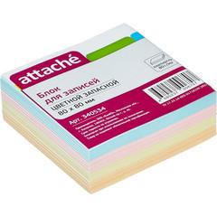 Блок-кубик ATTACHE запасной 8х8 300л (+/- 5%) цветной