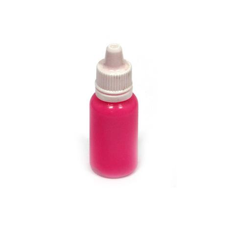 Краска  флюоресцентная Exmix Розовый 15 мл