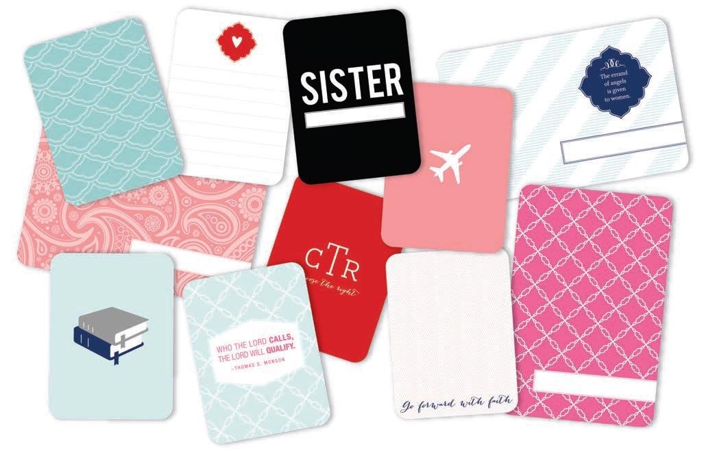 SISTER EDITION CORE KIT- большой комплект карточек для Project Life