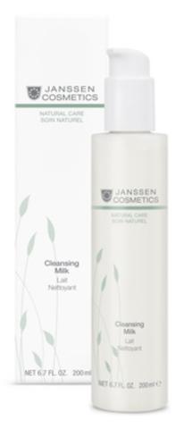 Нежное молочко для деликатного очищения кожи Janssen Cleansing Milk,200 мл.