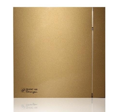Лицевая панель для вентилятора Soler & Palau SILENT 100 CZ DESIGN GOLD