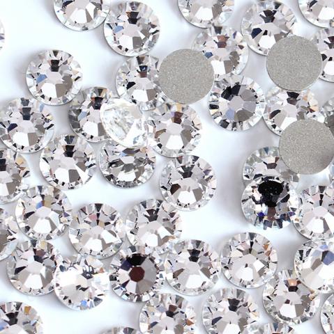 Стразы SS12 прозрачный кристалл 100 шт
