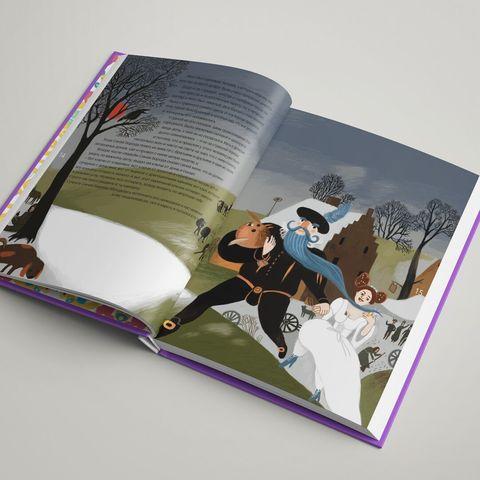 Альбом «Красавица и чудовище в стиле Густава Климта», «Синяя борода в стиле Питера Брейгеля» и «Три поросенка в стиле Василия Кандинского»