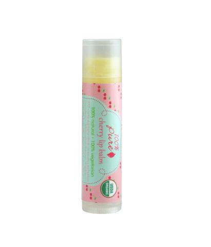 Бальзам для губ Вишня (USDA Organic) 100% Pure