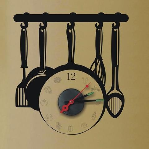 Часы-наклейка 1*AА батарея (в комплект не входит), NL39 (Feron)