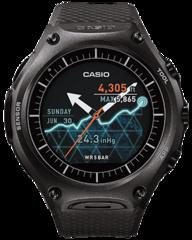 Умные часы Casio WSD-F10BK Smart Outdoor Watch