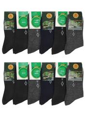 8425 BOYI носки мужские 42-48 (12шт), цветные
