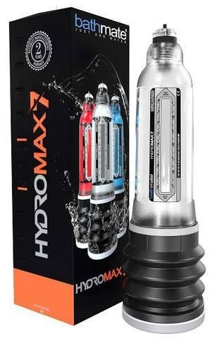Гидропомпа для члена Bathmate HydroMAX7 прозрачный (ранее Hydromax X30)