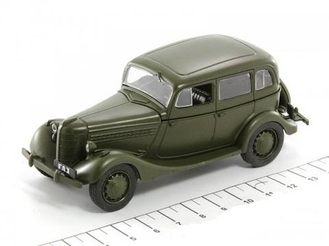 Модель Автолегенды №19 ГАЗ 11-73 жур/серия