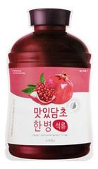 Тканевая маска для лица с экстрактом граната Fruit Vinegar Pomegranate Sheet Mask 20г
