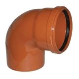 Отвод 160х90 наружная канализация