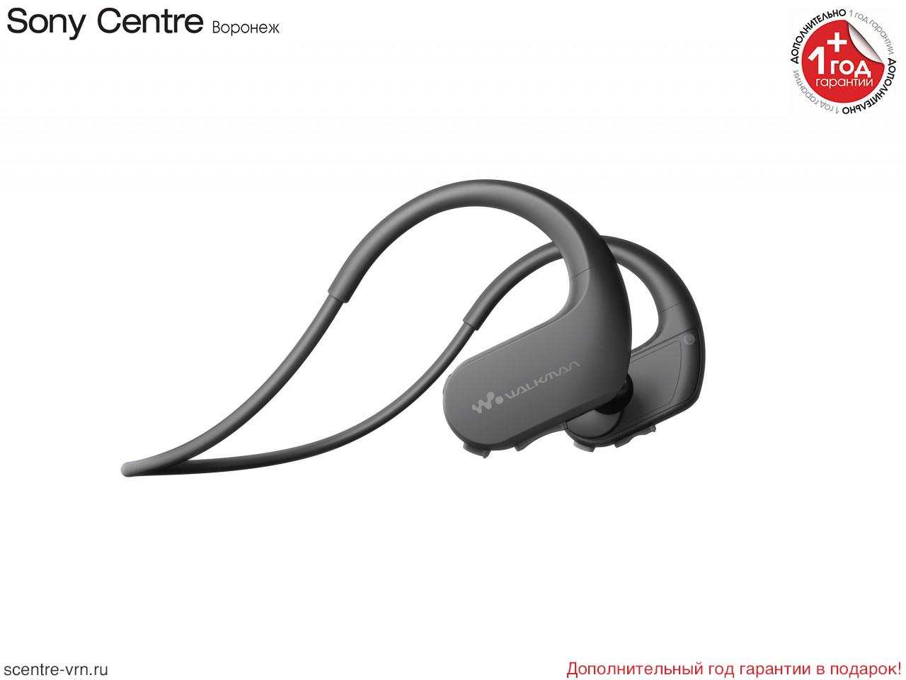 Спортивный плеер Sony NW-WS625B, 16 ГБ, цвет чёрный