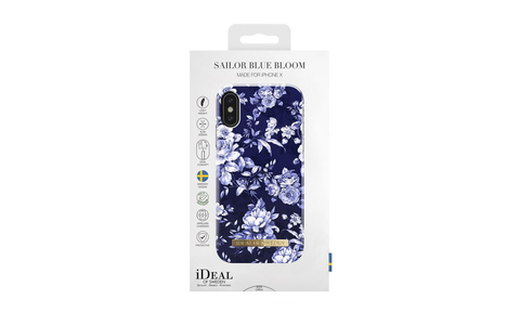 Чехол iDeal of Sweden Sailor Blue Bloom IPhone X
