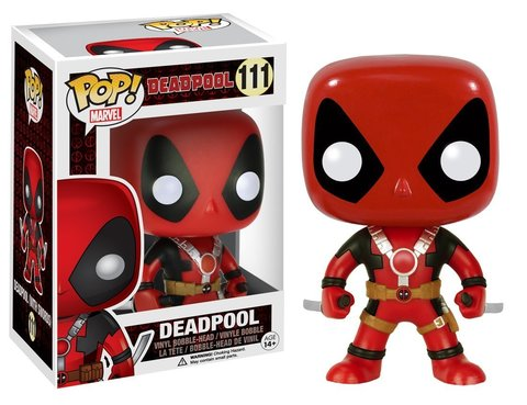 Фигурка Funko POP! Bobble: Marvel: Deadpool Two Swords 7486