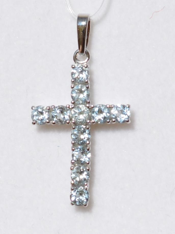 Крест 30511 (кулон  из серебра).