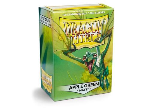 Протекторы Dragon Shield матовые Apple Green (100 шт.)