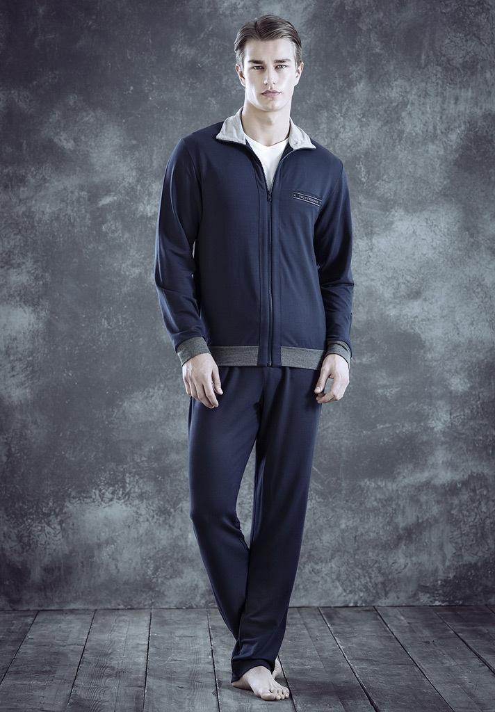 Мужской домашний костюм на молнии Trussardi (Домашние костюмы и пижамы)