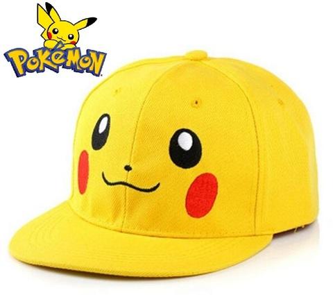 Бейсболка детская Покемон Пикачу желтая
