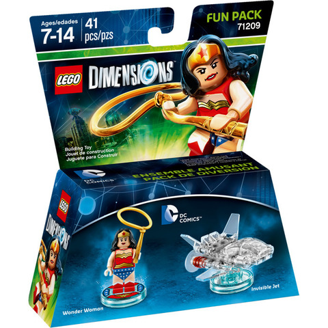 LEGO Dimensions: Fun Pack: Чудо-женщина 71209 — Wonder Woman — Лего Измерения