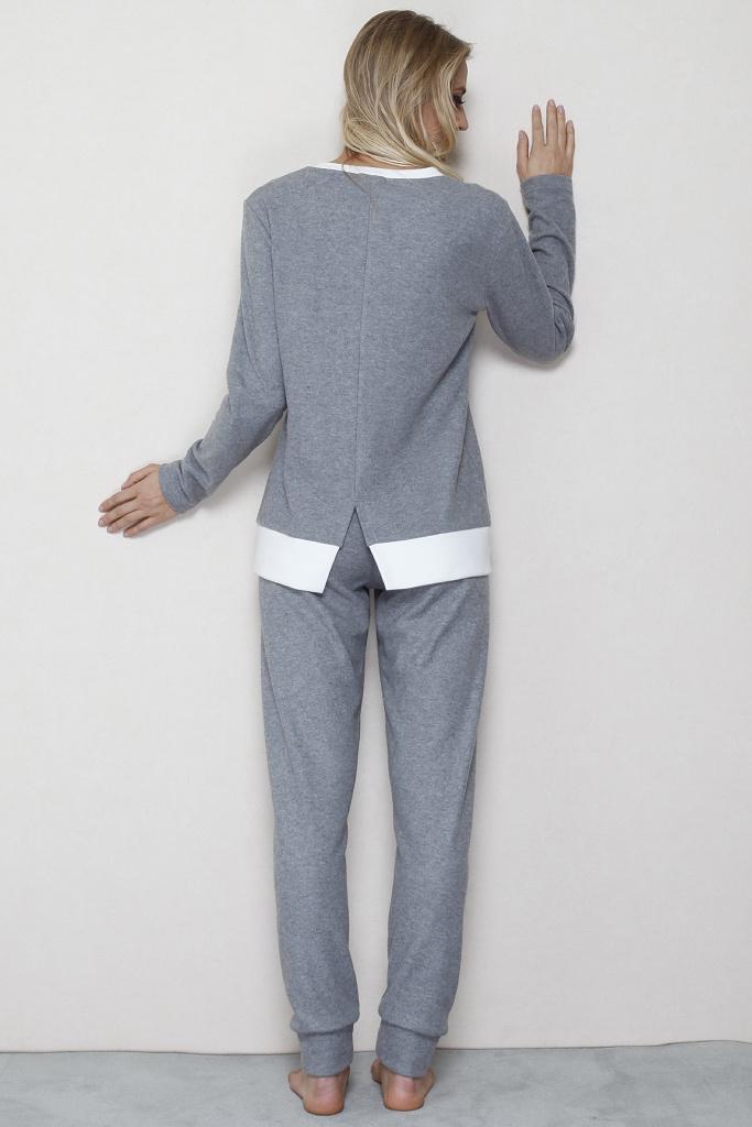Оригинальный теплый домашний костюм B&B
