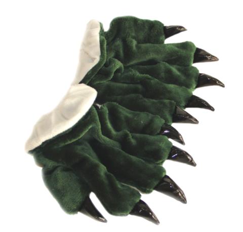 Перчатки кигуруми зеленые