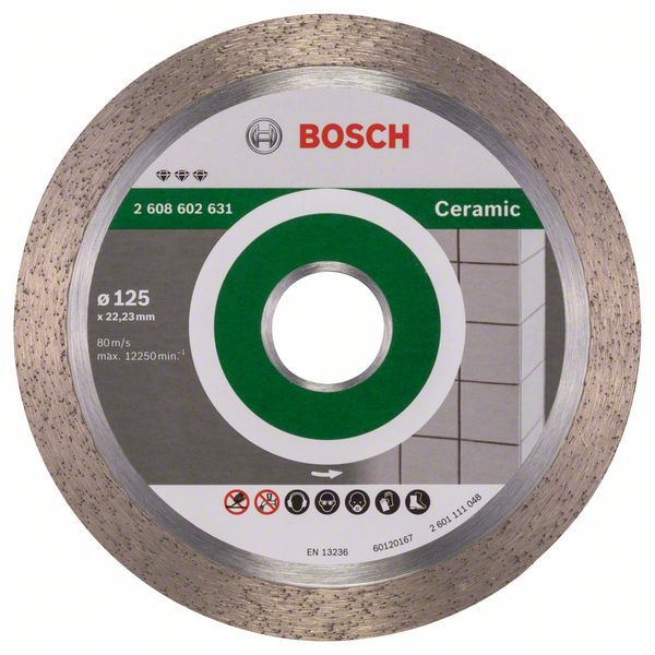 Алмазный диск Best for Ceramic 125-22,23 Bosch 2608602631