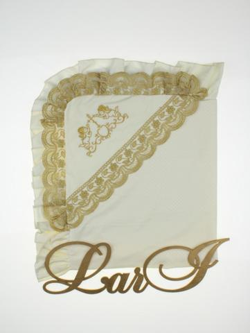Пеленка крестильная Вдохновение (кремовый)