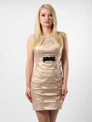 1260-3 платье кремовое