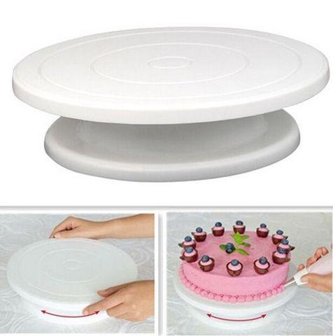 Стол поворотный для декора торта
