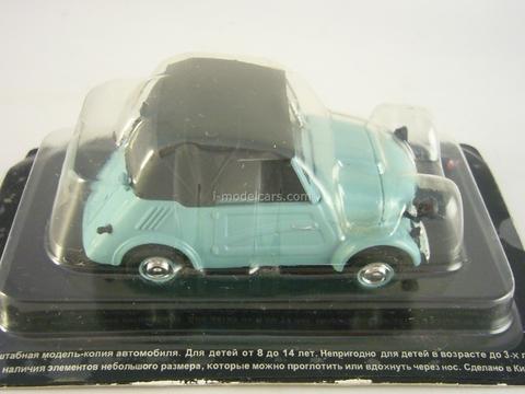 SMZ-S3A blue-green 1:43 DeAgostini Auto Legends USSR #24