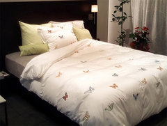 Пододеяльник 155х200 Christian Fischbacher Luxury Nights Butterfly 700