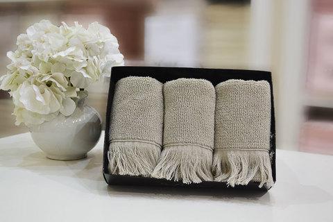 FRINGE-ФРИНГЕ салфетки махровые 3 предмета 30х50 Soft Cotton (Турция)