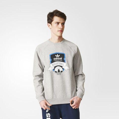 Свитшот мужской adidas ORIGINALS ADI TORSION CREW