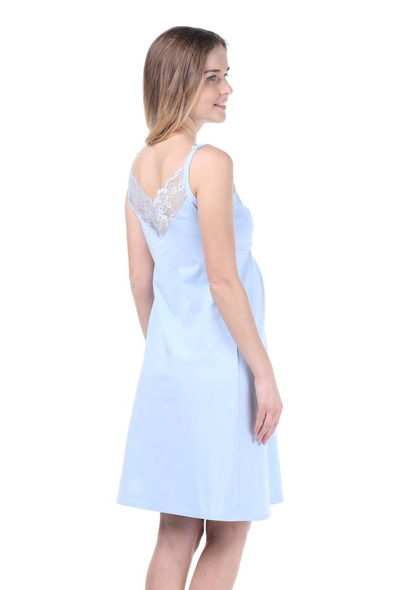 Сорочка 09903 голубой
