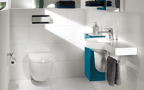 Унитаз подвесной Villeroy & Boch Subway Plus 6600 10R1 alpin
