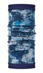 Шарф-трансформер с подкладкой из флиса Buff Polar Reversible Winter Garden Blue