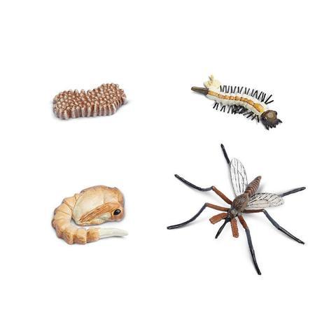 Набор фигурок Жизненный цикл комара, Safari Ltd.