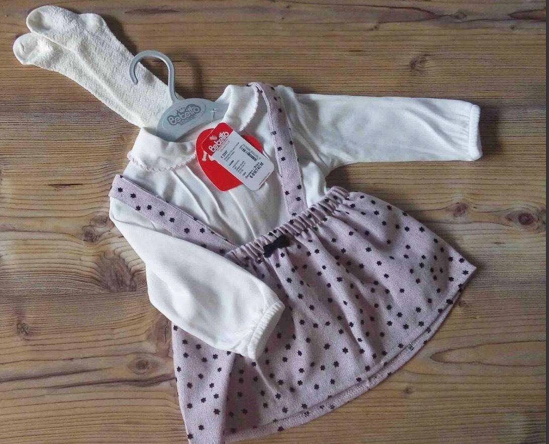 Комплет сарафан, блузка и колготки K 2397
