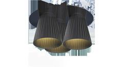 Dix heures dix H444 Black — Светильник потолочный подвесной METEORITES H444 Black