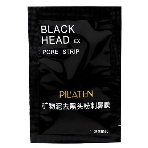 Маска для лица Pilaten Black Head Pore Strip 6g