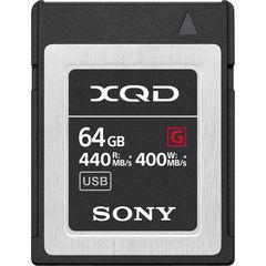 Карта памяти Sony XQD 64GB QD-G64F G серия 440/400MB/s