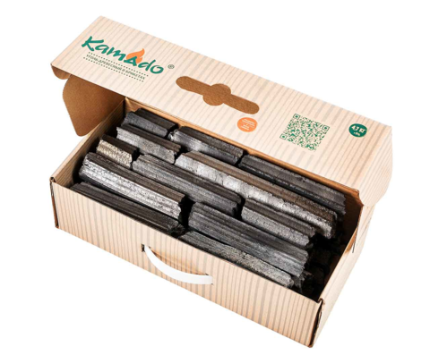 Уголь Kamado Joe брикеты коробка 4,7 кг