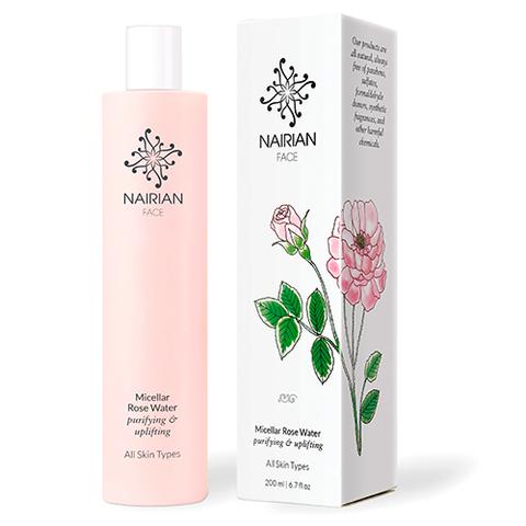 Мицеллярная розовая вода, Nairian