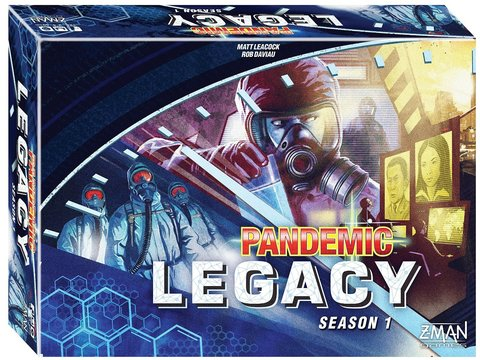 Pandemic: Legacy - Season 1 blue box  (на английском языке)