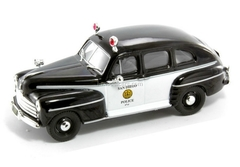 Ford Fordor 1947 Police San Diego USA 1:43 DeAgostini World's Police Car #50